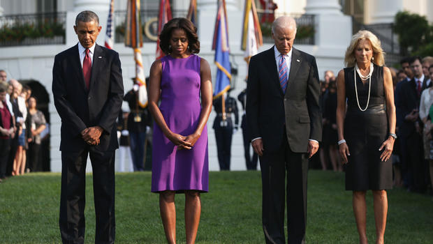 Image result for obama, biden, wives