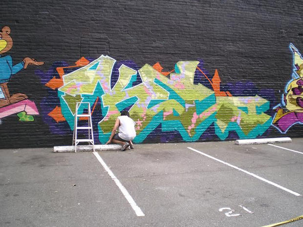Legends Of Graffiti KEL1ST One Of The Greatest NYC Graffiti Artists Pictures CBS News