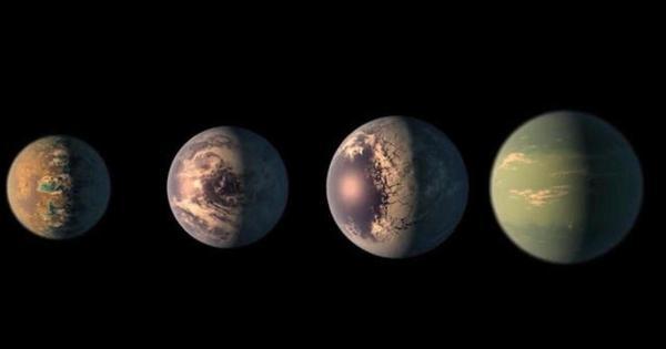 NASA discovers seven Earthsized planets CBS News