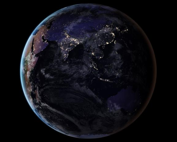 North and South America as seen from space - NASA releases ...