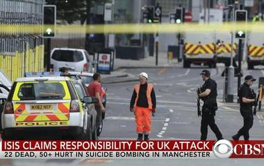 ISIS claims responsibility for Manchester concert bombing