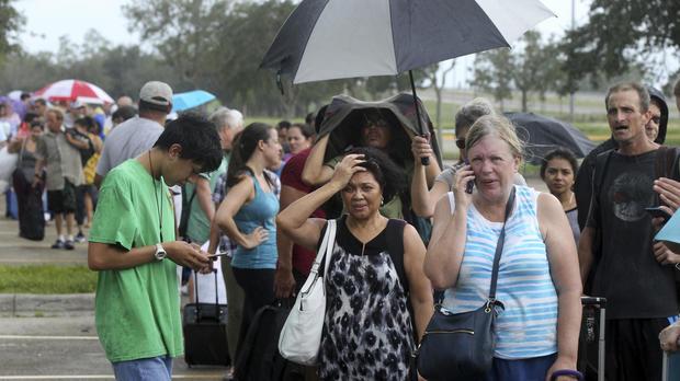 ap-17252716183645 Hurricane Irma shifts course, threatening Tampa - live updates