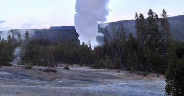 Image result for World's tallest geyser may erupt at Yellowstone National Park