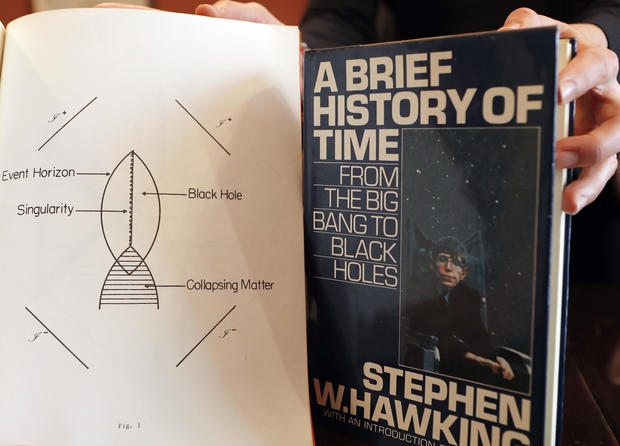 Britain Stephen Hawking Auction