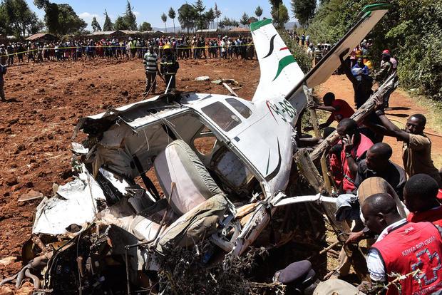 Image result for Plane crash kills five people in Kenya