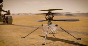 Ingenious helicopter ready for first flight to Mars