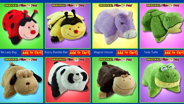 thousands of fake pillow pets seized