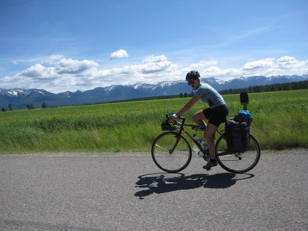 Cross-country bike ride honors dad, 9/11 victim - Photo 1 ...