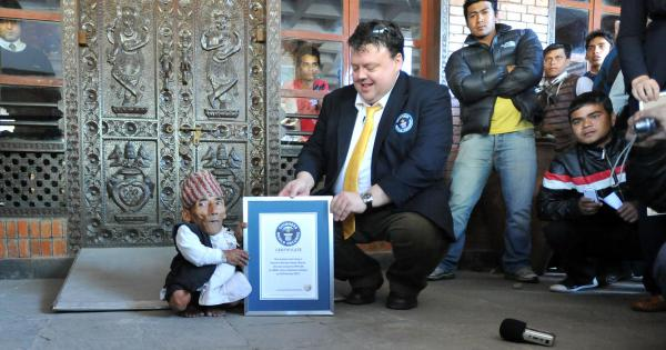 World's shortest man is 21.5-inch-tall Nepalese 72-year ...