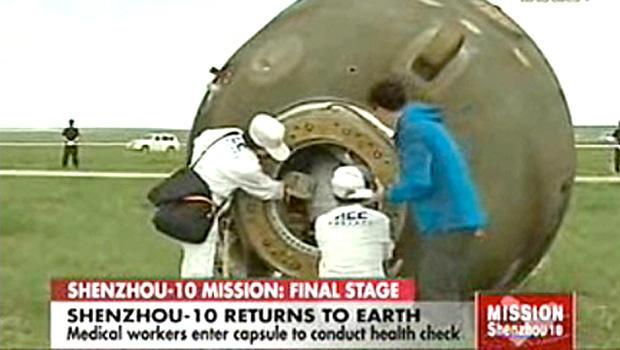 Chinese astronauts complete space mission, return to Earth ...