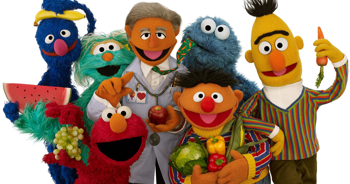 Muppets Mini Makeover Aims To Boost Kids Health CBS News