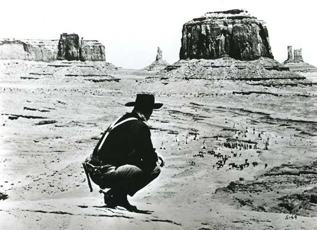 Monument Valley in the film Fort Apache