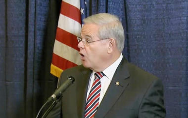 New Jersey Sen. Menendez accused of taking bribes to help friend