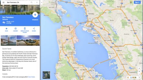 Get ready for more ads in your Google Maps   CBS News