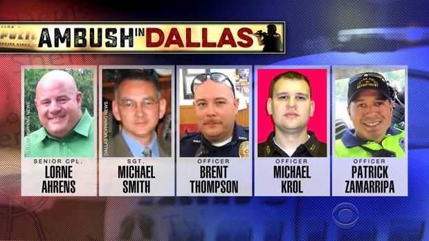 President Obama To Pay Tribute To Dallas Officers Killed In Ambush CBS News