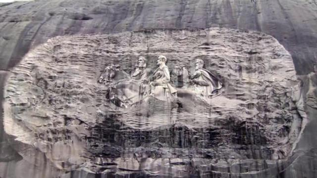 Will Confederate faces on Georgia's Stone Mountain be removed?, Swahili Post