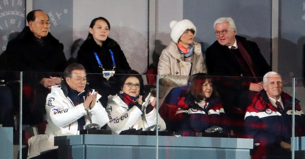 Mike Pence doesn't stand for North Korea athletes during opening ceremonies