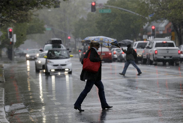 West Coast still drenched after second rainiest day since 1849 Gold Rush