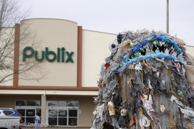 Publix Plastic Protest in Florida