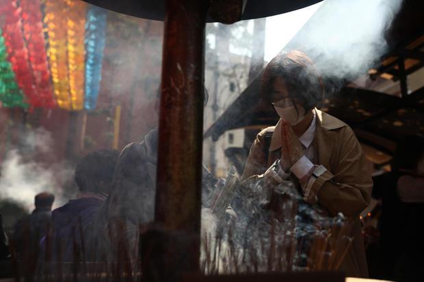 South Koreans celebrate Buddha's birthday amid coronavirus pandemic