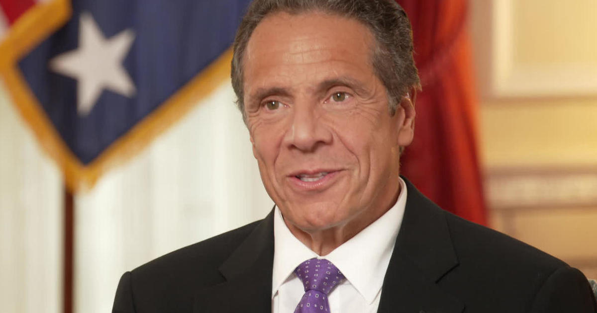 """Father, fisherman, motorcycle enthusiast, 56th governor of new york. Andrew Cuomo: The federal government should """"own"""" the ..."""