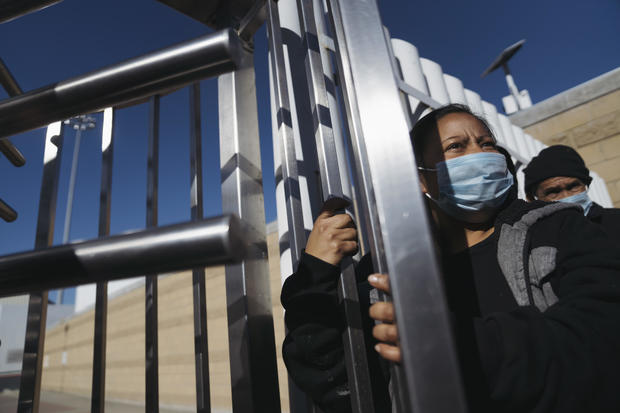 U.S. Lets In Asylum-Seekers Stuck In Mexico, Ends Trump Policy