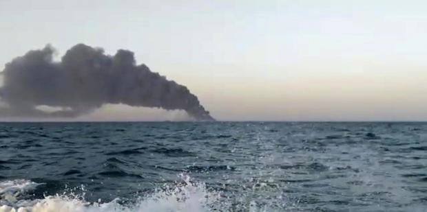 Fire of the Iranian Navy