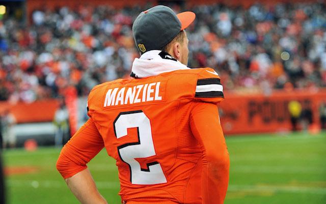 Johnny Manziel Rumors Cleveland Browns Cut League Year