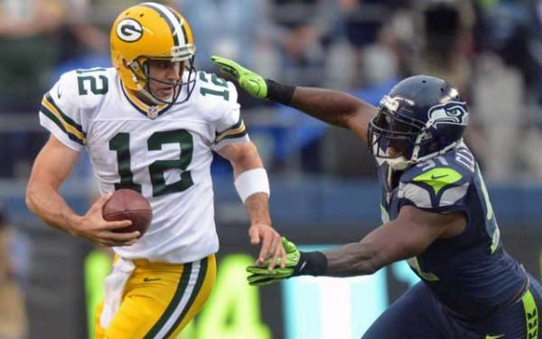 Film Study: How the Seahawks made Aaron Rodgers see ghosts ...