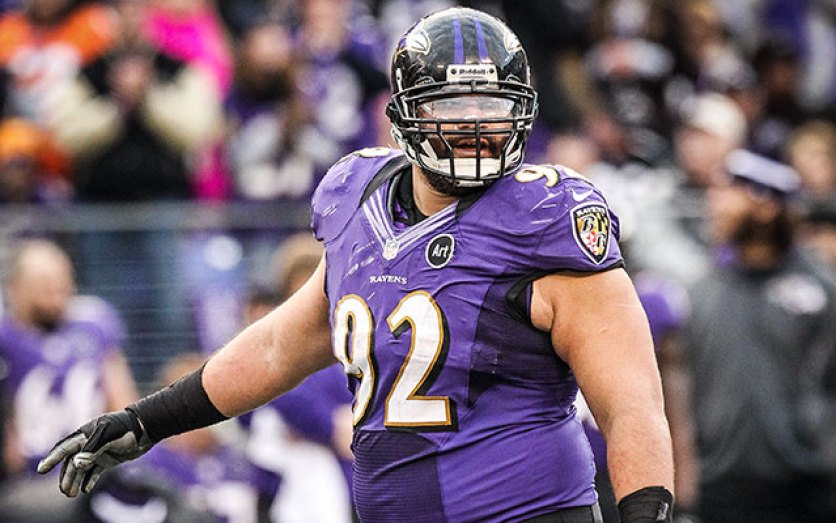 WATCH: Haloti Ngata is ridiculously strong, even more athletic -  CBSSports.com