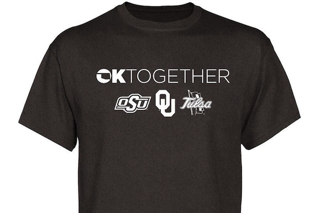 Proceeds from the sale of the shirt will benefit disaster relief efforts across Oklahoma. (USATSI)