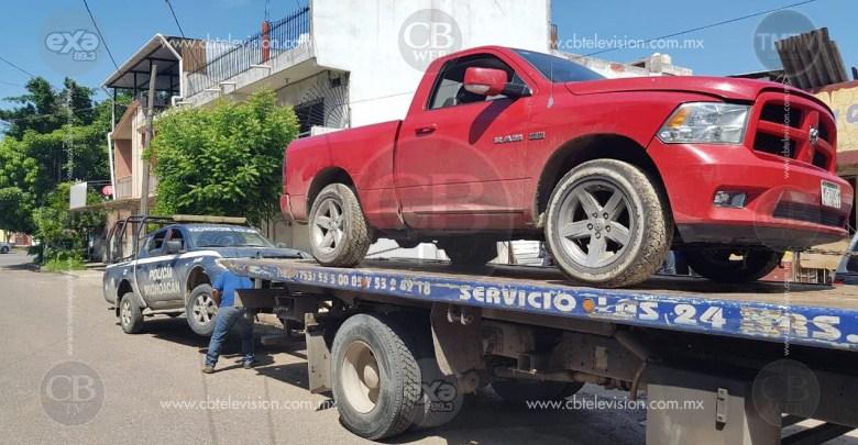 Arrestan a sujeto que robó una camioneta y luego disparó contra policías en Lázaro Cárdenas