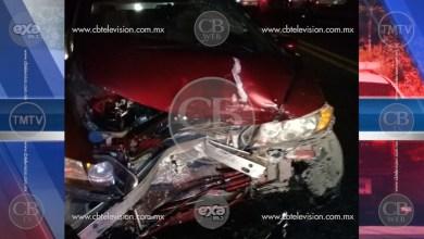 Una fémina lesionada tras chocar su auto en la Siglo XXI