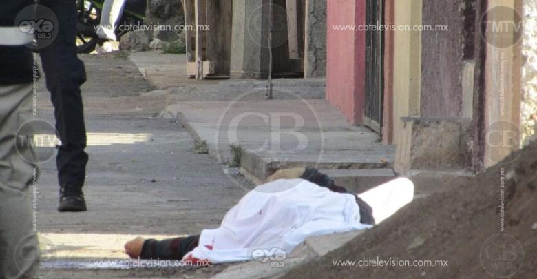 Joven es asesinado en la vía pública de Zamora