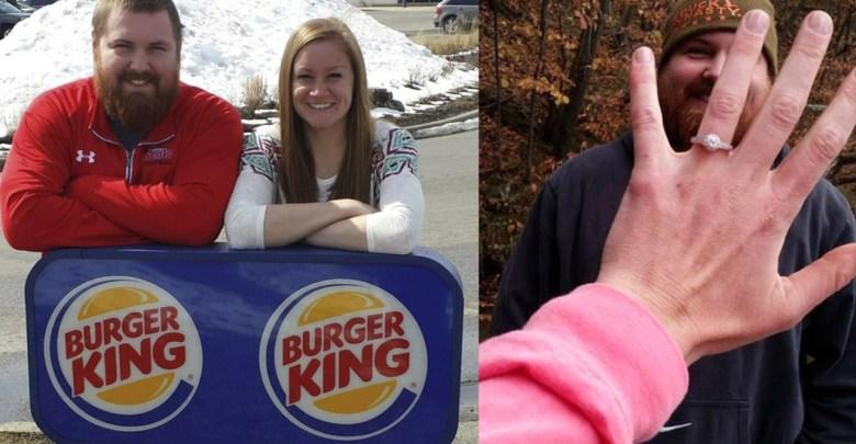 Burger King le paga la boda a una pareja, él se apellida Burger y ella King