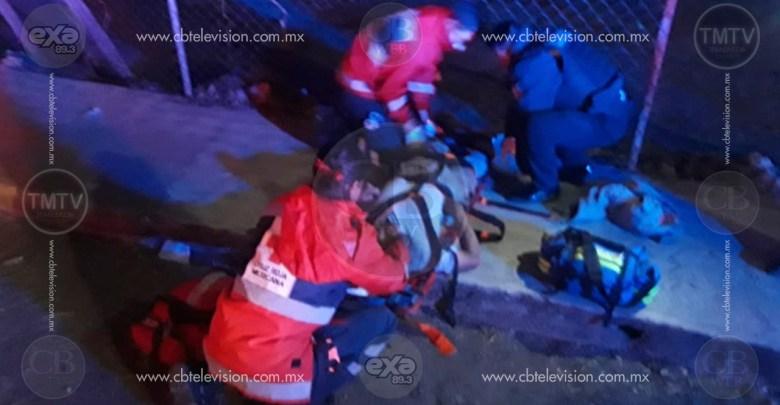 Agreden a hombre con arma blanca y lo dejan tirado en la vía pública de Morelia