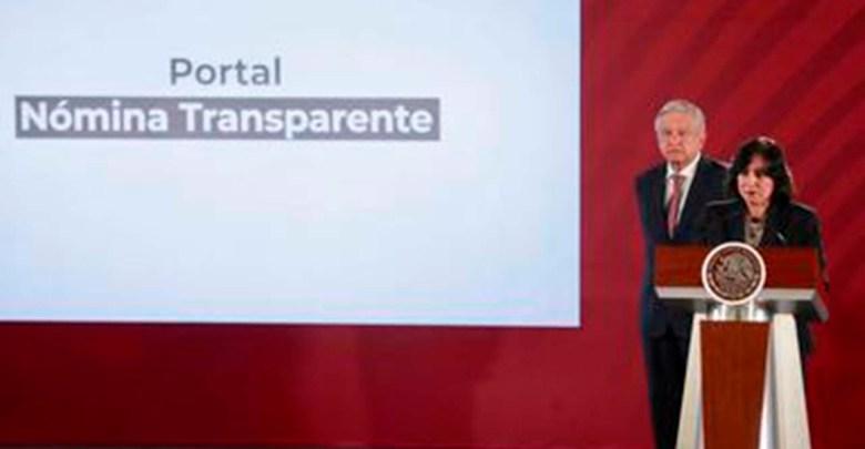 Función Pública transparenta la nómina del Gobierno Federal