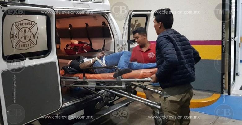 A balazos atacan a ciclista en Jacona