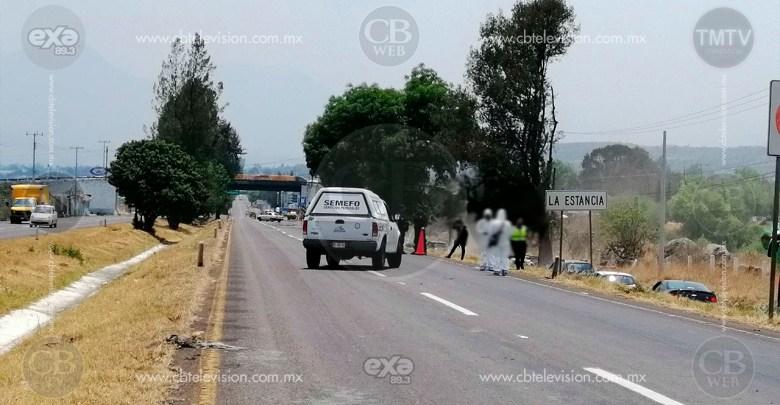 Muere mujer al ser embestida por una camioneta en Morelia