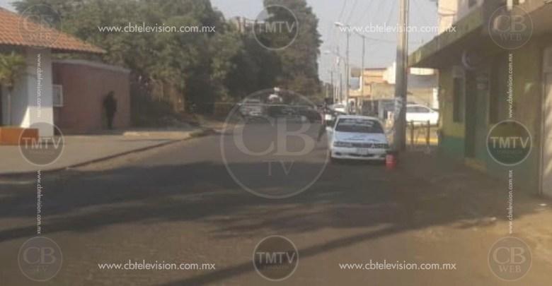 Taxista es acribillado a balazos en Uruapan