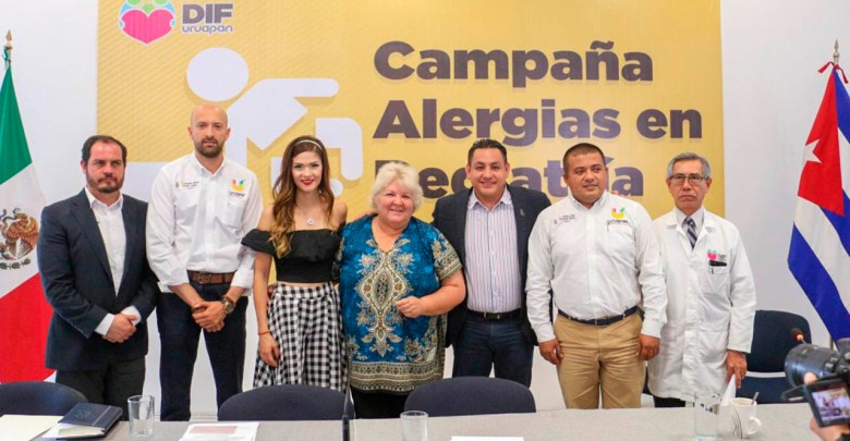 Anuncian campaña gratuita de control de alergias para la niñez