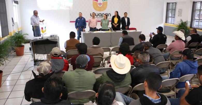 Impulsa Gobierno Municipal actividad ganadera de Uruapan