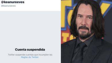 Twitter suspende cuenta de Keanu Reeves por una broma relacionada con John Wick