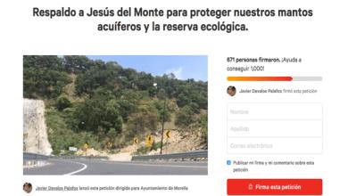 Ciudadanos juntan firmas para apoyar campesinos de Jesús del Monte