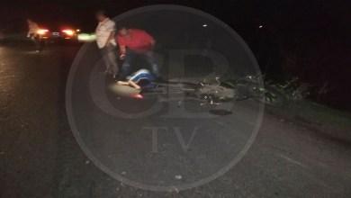 Motociclista en estado de ebriedad se accidenta de gravedad
