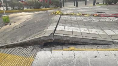 Continúan las valoraciones del desperfecto en la Calzada Juárez: Sergio Adem