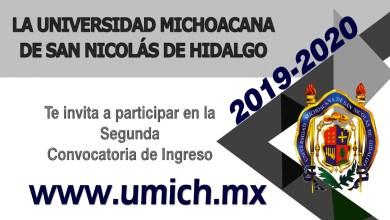 La UMSNH invita a participar en la segunda convocatoria de ingreso