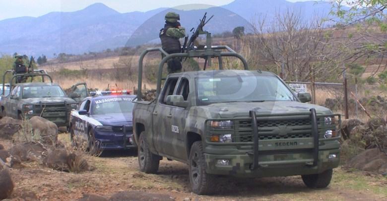 Atacan a balazos a la Policía Michoacán con calibre 50