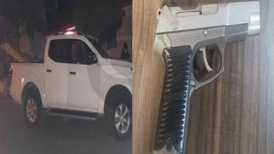 Aseguran SSP y GN vehículo con reporte de robo y arma de fuego