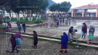 Realizan faenas de limpieza en comunidades de Los Reyes